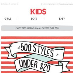 [Cotton On] 500 STYLES UNDER $20...NEED WE SAY MORE?