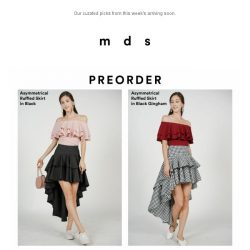 [MDS] First Hand access to arriving soon | Shop the looks now