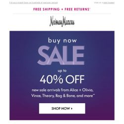 [Neiman Marcus] Up to 40% off Vince, Rag & Bone and more