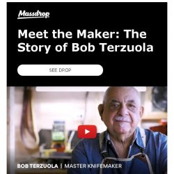 [Massdrop] Watch Bob Terzuola Discuss His Background & the Birth of the Tactical Knife