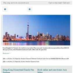 [Cathay Pacific Airways] Perfect holiday from SGD228 with Standard Chartered Cards