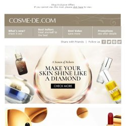 [COSME-DE.com] 【Limited Offer】Get Young Looking Skin Now!