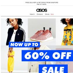 [ASOS] Now up to 60% off – yes really!