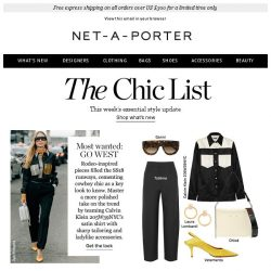 [NET-A-PORTER] Go west with this season's most wanted trend