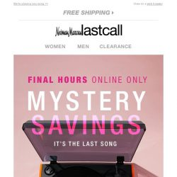 [Last Call] ☺ We picked this for you → Your MYSTERY SAVINGS are verified (final hours!)