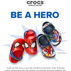 [Crocs Singapore] Gear up for Avengers: Infinity War with heroic Marvel clogs