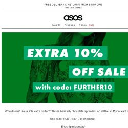 [ASOS] Extra 10% off sale