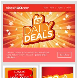 [AirAsiaGo] 🌟 Good day, we picked these deals just for you! - Don't miss out 🌟