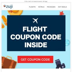 [Zuji] BQ.sg: [2-DAY only] Flight Coupon Code inside