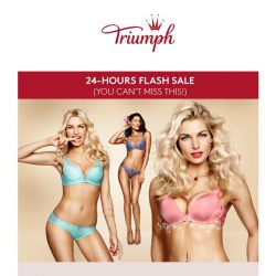 [Triumph] TODAY ONLY! Signature styles at $99.90!