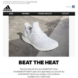[Adidas] Rule the heat with UltraBOOST Clima