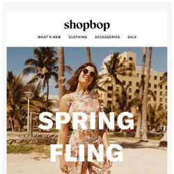 [Shopbop] A spring fling with Rebecca Taylor