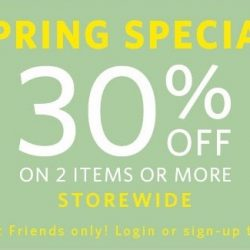 Esprit: Spring Sale - 30% OFF 2 Items or More Storewide Online & In Stores