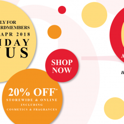 Metro: Enjoy 2 X Rebates + 20% OFF Storewide & Online Including Cosmetics & Fragrances