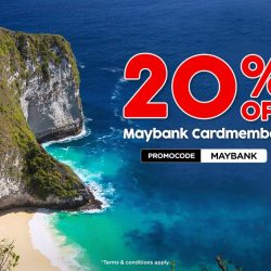 AirAsia: Maybank Cardmembers Enjoy 20% OFF Over 70 Destinations Including Bali, Bangkok, Seoul, Melbourne, Tokyo, Melbourne & More!