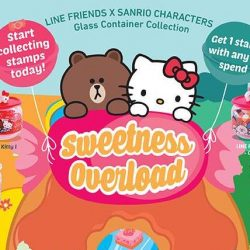 7-Eleven: Collect Sanrio characters x LINE FRIENDS Glass Containers with Every $4 Spent