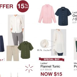 MUJI: Celebrate the 15th Anniversary with 15% OFF Bestsellers!