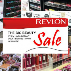Revlon: The Big Beauty Sale with Up to 80% OFF Your Favourite Revlon Products!