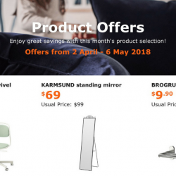 IKEA: Special Offers for IKEA FAMILY Members with Up to $30 OFF!
