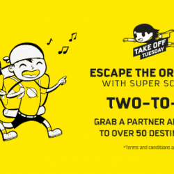 Scoot: SG Take-off Tuesday with Special Two-to-Go Fares to Over 50 Destinations Including Melbourne, Taipei, Tokyo, Bangkok, Berlin & More!