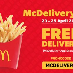 McDonald's: FREE Delivery for All App Orders on McDelivery Day!