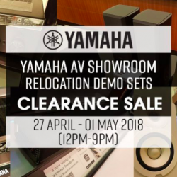 Yamaha: AV Showroom Clearance Sale