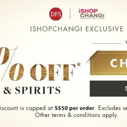 iShopChangi: Coupon Code for 10% OFF Wines & Spirits