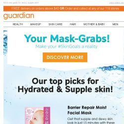 [Guardian] 💧 Your Essential Guide to Hydrated skin! | #SkinGoals Series #2