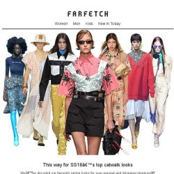 [Farfetch] Show time. Open for SS18's top shows