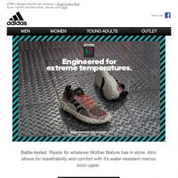 [Adidas] ATRIC - A shoe engineered for extreme environments, tested in the city.
