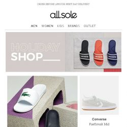 [Allsole] Step into summer with up to 30% off