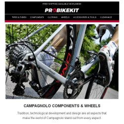 [probikekit] Save up to an EXTRA 10% off Campagnolo components!