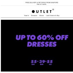 [ASOS] Up to 60% off dresses are go!