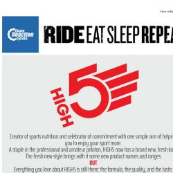 [Chain Reaction Cycles] HIGH5 Nutrition: Fresh New Style ✋