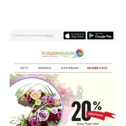[Floweradvisor] What's better than a beautiful gift? A beautiful gift that last forever!
