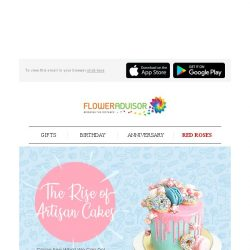 [Floweradvisor] We Bring Them to You, A Literally Edible Art. Check Them Out!