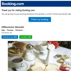 [Booking.com] Affittacamere Mannolini – are you still interested in staying?