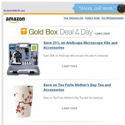 [Amazon] Save 25% on AmScope Microscope Kits and...