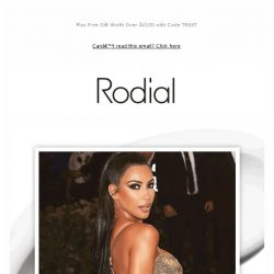 [RODIAL] Kim Kardashian & Rodial at The Met Gala