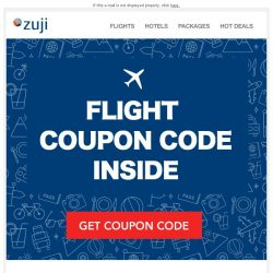 [Zuji] BQ.sg: Flight Coupon Code for you