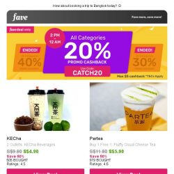[Fave] Sweet Tooth Alert: Dunkin' Donuts | Partea & more!