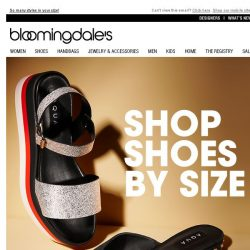[Bloomingdales] Because you can't have too many shoes