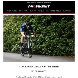 [probikekit] Top Brands Deals of the Week [Up to 50% off!] | EXTRA 15% off Get The Look bundles!