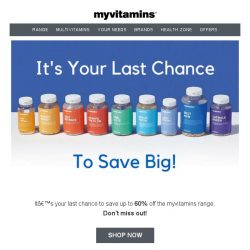 [MyVitamins] Save up to 60% on myvitamins
