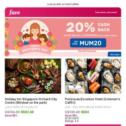[Fave] 1-for-1 Buffet @ Holiday Inn & Peninsula Excelsior Hotel!