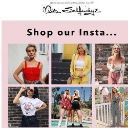 [Miss Selfridge] Wanna be on our Insta girl?