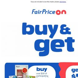 [Fairprice] Deals that you can't miss!