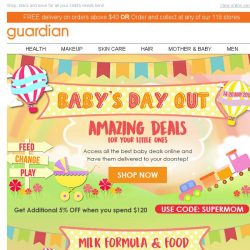 [Guardian] 🍼 Our AMAZING Baby Deals are now LIVE!