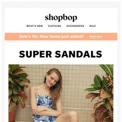 [Shopbop] 4 warm-weather pairs to get in your closet now