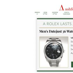 [Ashford] Rolex: Blink and it'll be gone!